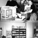 1999 Resource Centre move from the Bathurst location to the Eglington location.